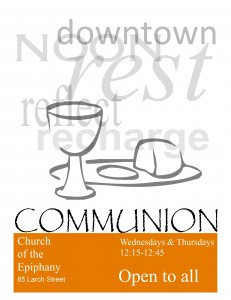 Noon Service Poster2