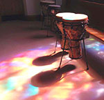 drums in church